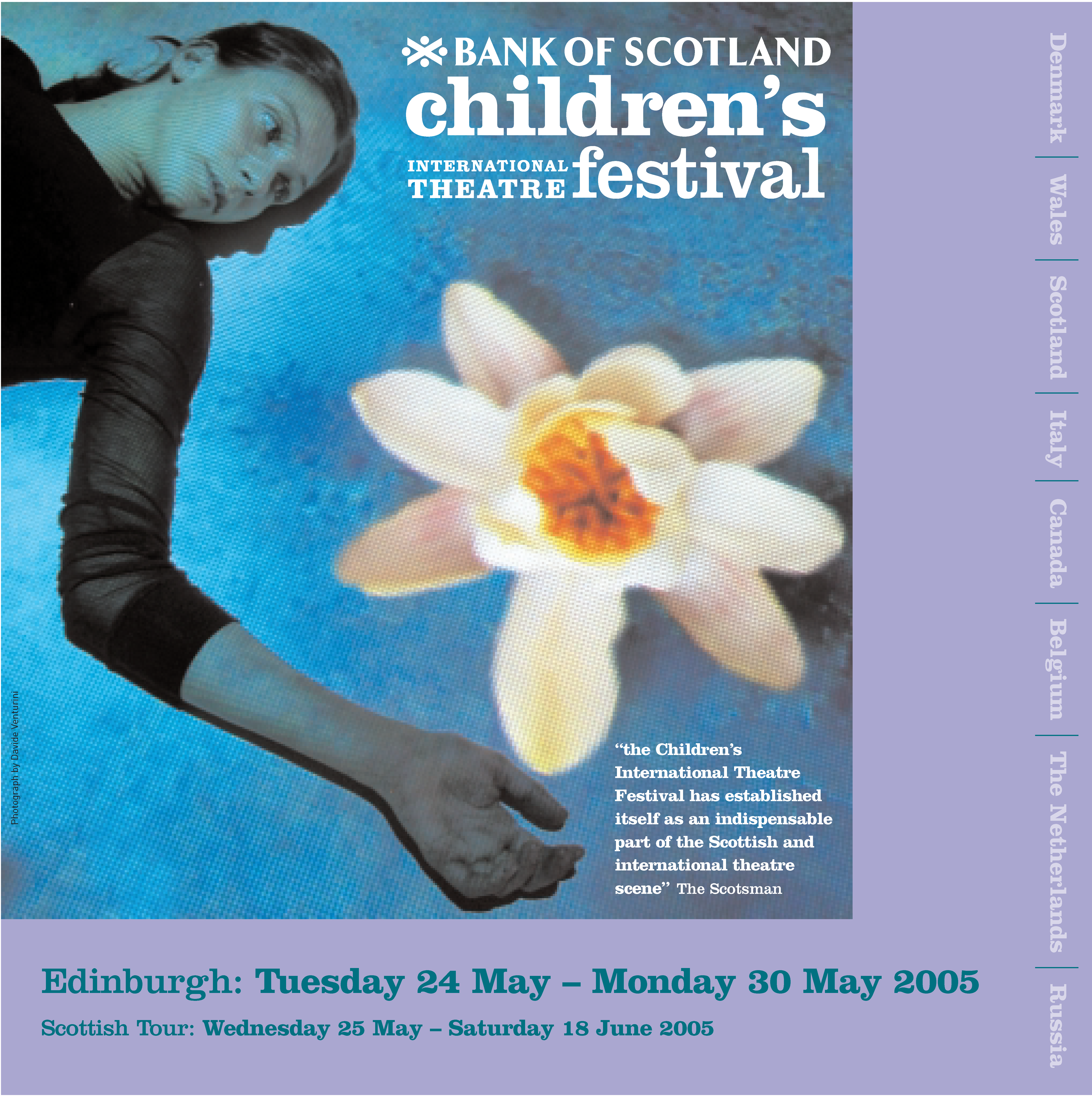 Programme front cover